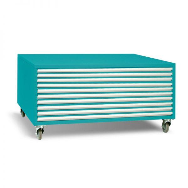 A1 10 Drawer Horizontal Plan Cabinet