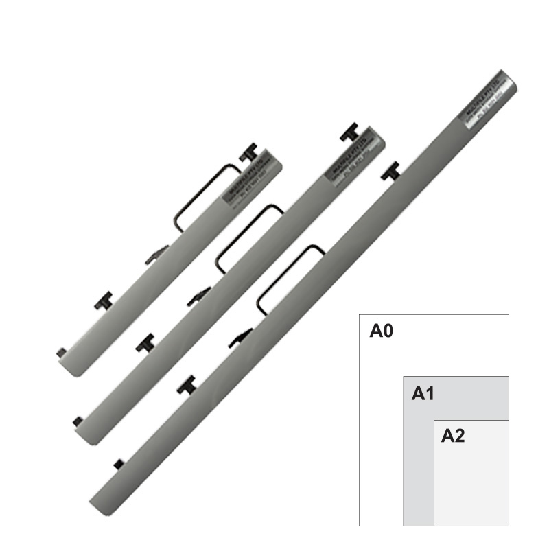 Multifile Premium A0, A1, & A2 Plan Clamps