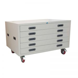 Lockable Horizontal A1 + A0 Plan Cabinets